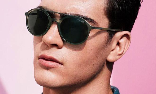 df54681cba5fe Zandre du Plessis for Giorgio Armani Eyewear Spring Summer 2016