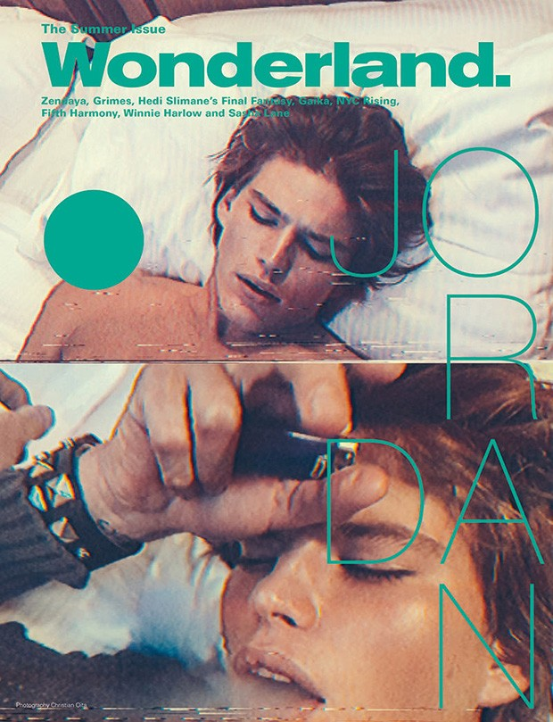 Jordan Barrett by Christian Oita for Wonderland (1)