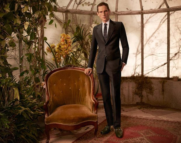 Roch Barbot for Gucci Tailoring Fall Winter 2016.17 2dbb9a779a1