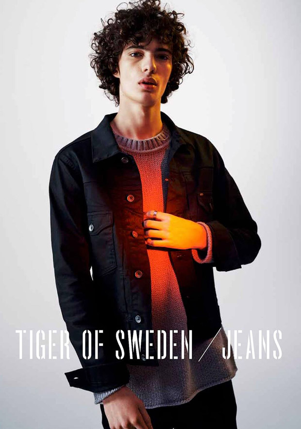 piero mendez for tiger of sweden jeans fall winter. Black Bedroom Furniture Sets. Home Design Ideas