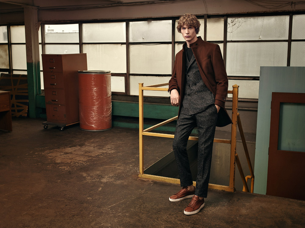 f8be2a63b6c Sven de Vries for Hugo Boss Rhythm and Moves Fall Winter 2016