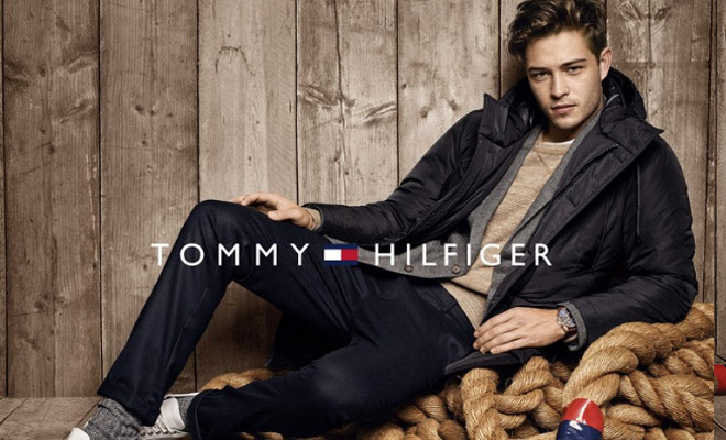 classic styles online for sale closer at Francisco Lachowski & Gigi Hadid Star in Tommy Hilfiger FW16 ...