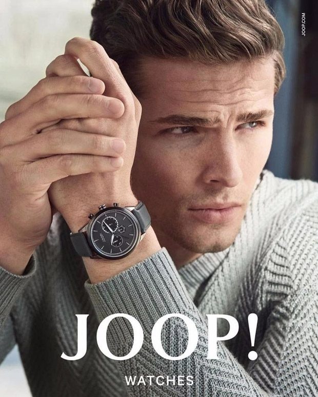 Joop! Watches Fall Winter 2016.17 Campaign Featuring ...