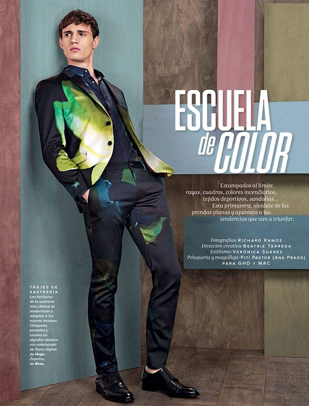 d3c2afd6c9 Color School  Julian Schneyder Poses for Codigo Unico Magazine