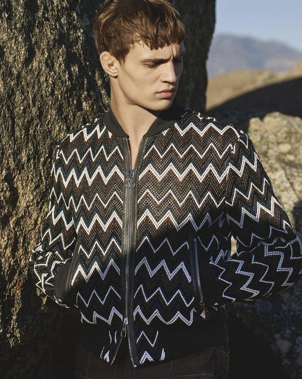 7ae61962196a Julian Schneyder Models Louis Vuitton for GQ Australia May 2017 Issue
