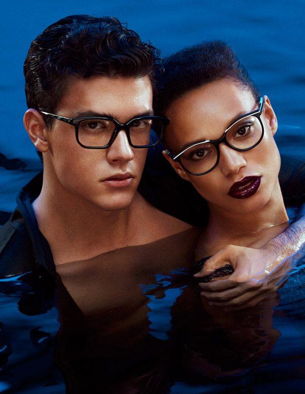Xavier Serrano Models Alain Mikli 2017 Les Bains Mysterieux Collection