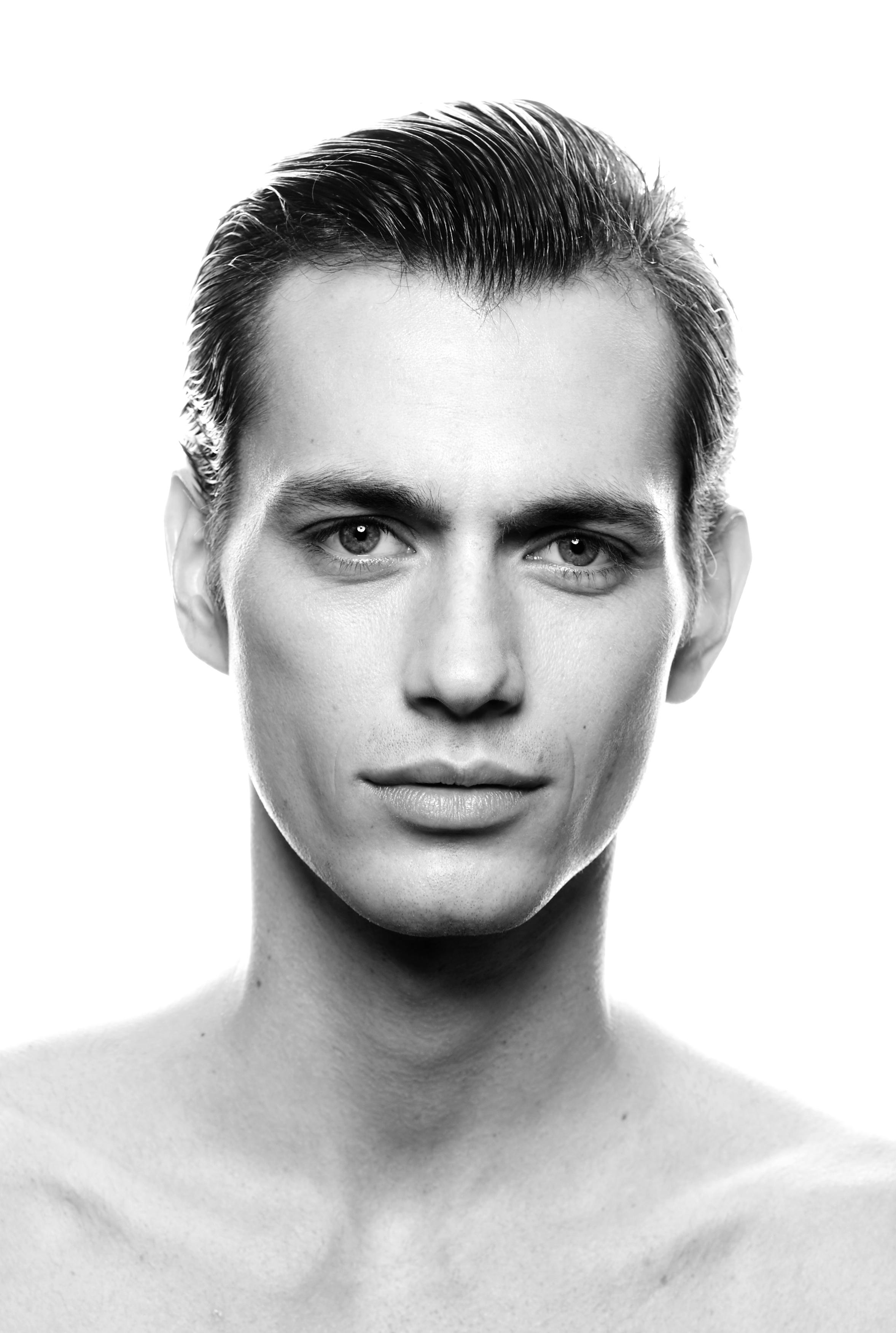 Dramatic Black And White Portraits • Bailward Photography