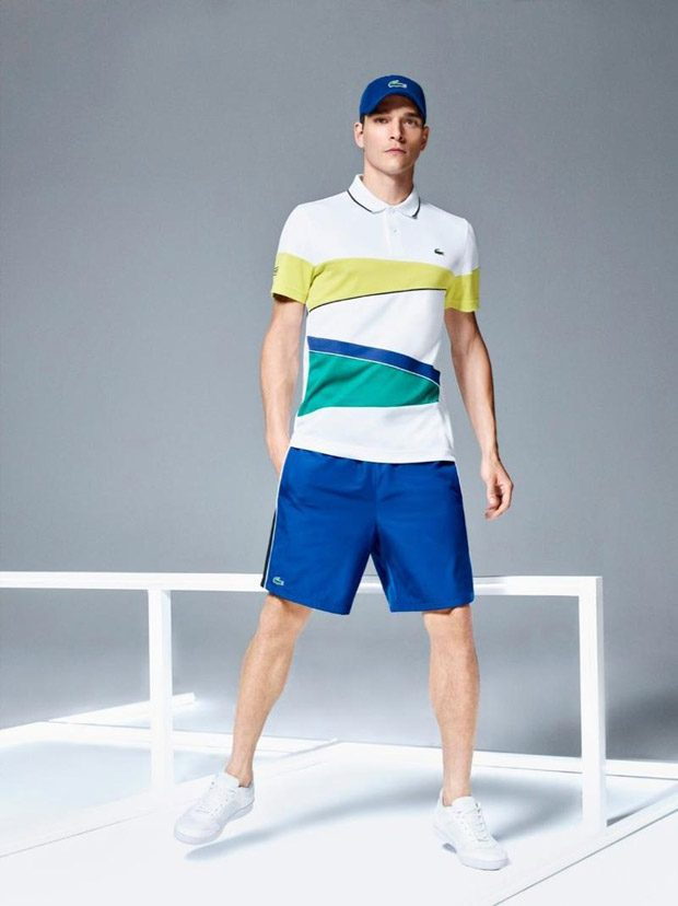 Alexandre Cunha Models Lacoste Spring Summer 2017 Collection 6383ee5cc0c26