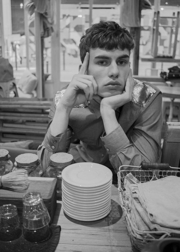 A Day In The Life Of Cute Barista Story Captured For Elle Men Hong Kong S Latest Edition By Fashion Photographer Syed Munawir Features Sam Heijblom