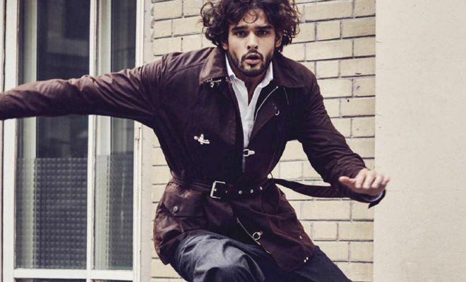 27dcb9e61fb5 Marlon Teixeira Models Louis Vuitton for GQ Mexico October 2017 Issue