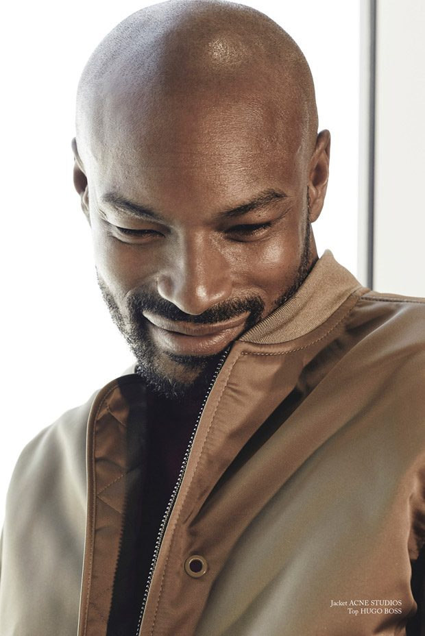 Tyson Beckford Stars in Glass Men Magazine Fall 2017 Cover ...