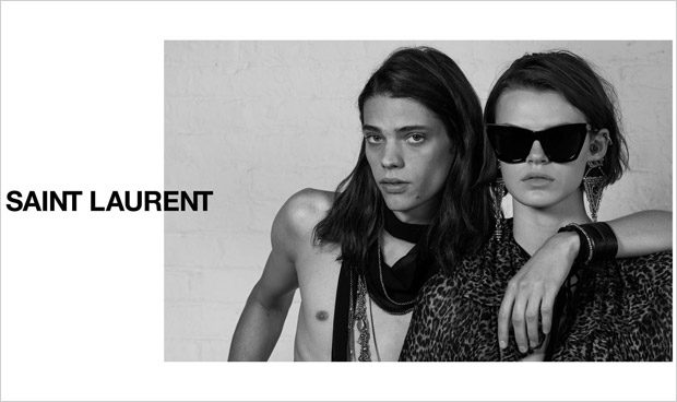 06b74d1c36e Erin Mommsen is the Face of Saint Laurent Spring Summer 2018 Eyewear