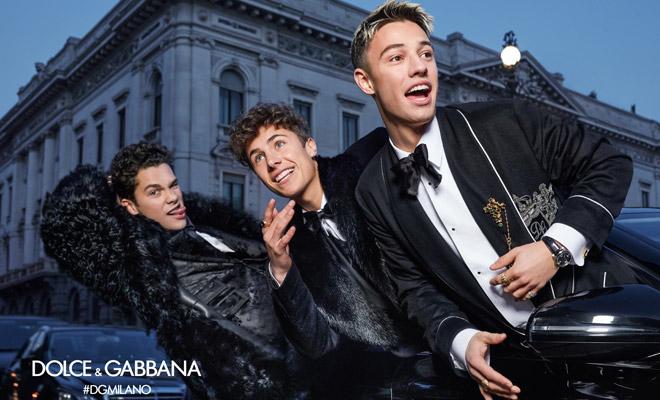 1e597501dc70  DGMillennials  Dolce   Gabbana Fall Winter 2018.19 by Morelli Brothers