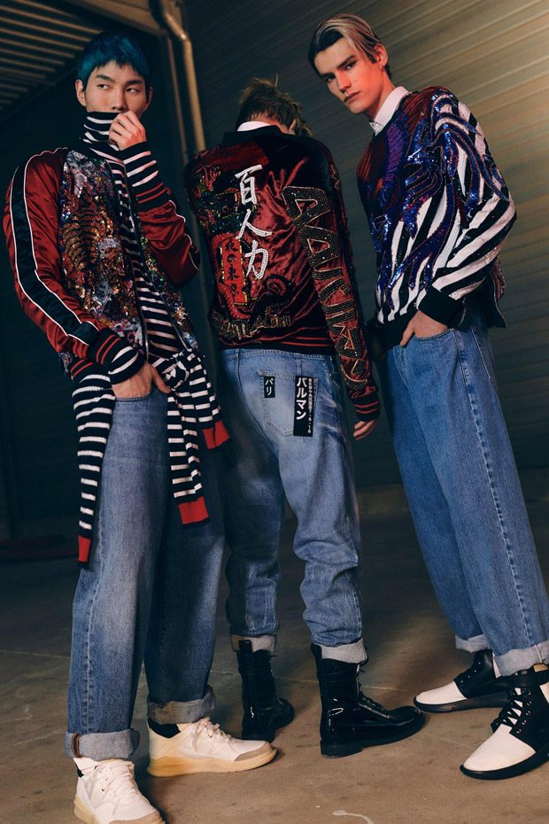 lookbook balmain pre fall  menswear collection