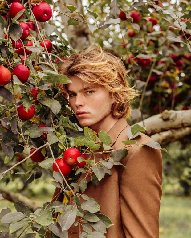 2018 shoes factory outlets hot sale online Country Roads: Top Model Jordan Barrett Poses for VMAN Magazine