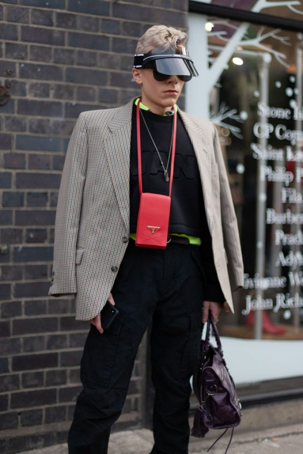 LONDON FASHION WEEK MEN'S STREET STYLE – DAY 2