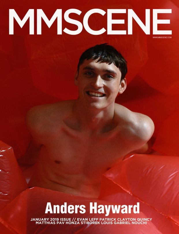 ANDERS HAYWARD MMSCENE COVER