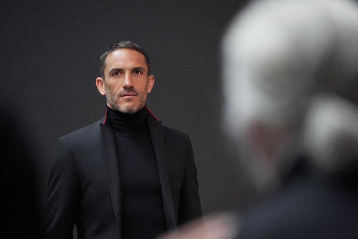 91facb73261 Sebastien Jondeau is Karl Lagerfeld's Menswear Ambasador