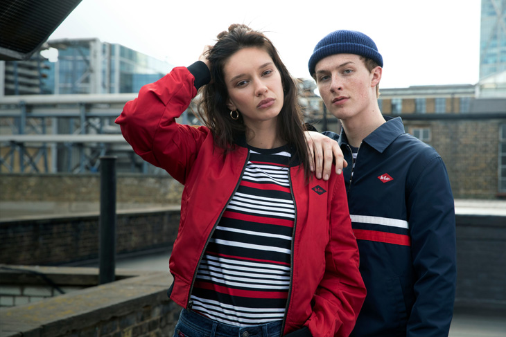 Harry Kirton is the Face of Lee Cooper Fall Winter 2019 20