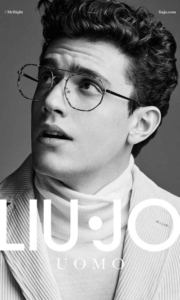 finest selection b7102 f0bc8 Xavier Serrano is the Face of Liu Jo Uomo Fall Winter ...