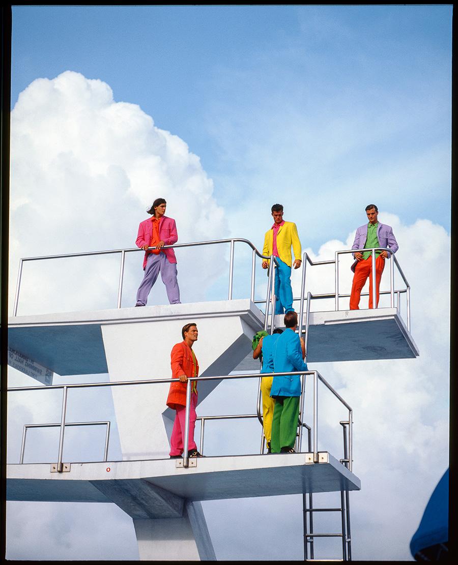 "VERSACE Shows ""South Beach Stories"" at Art Basel Miami Beach"