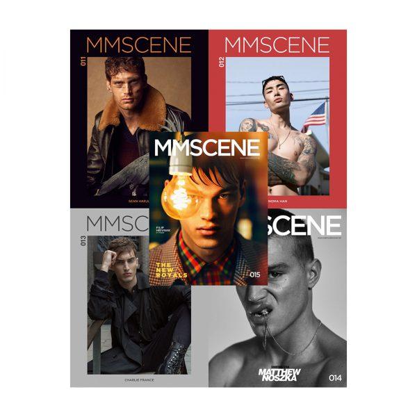 MMSCENE BUNDLE (ISSUES 11-15)