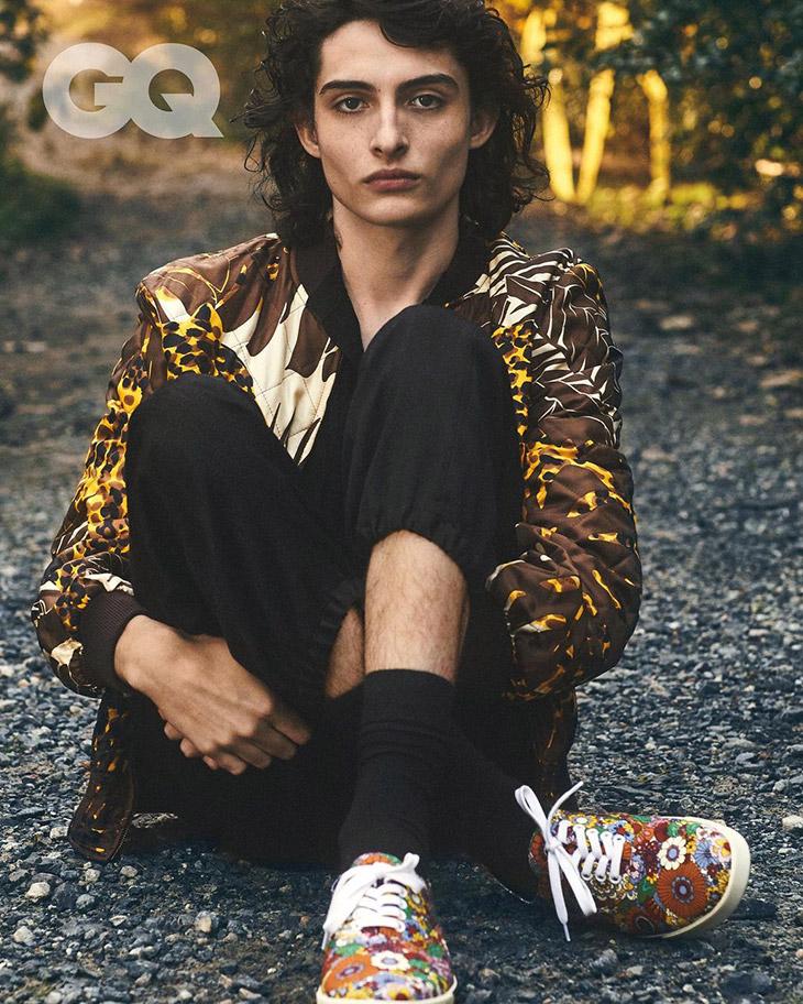 Finn Wolfhard Modeling